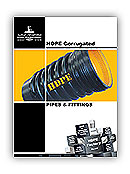 HDPE Corrugated Pipes & Fittings